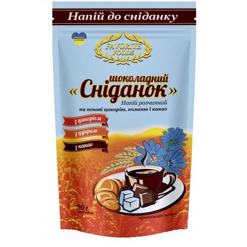 Цикорий с какао и сахаром